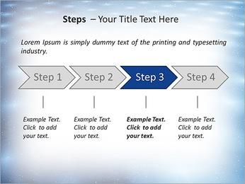 Bleu Pannel Modèles des présentations  PowerPoint - Diapositives 4