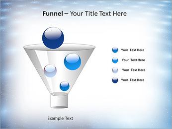 Bleu Pannel Modèles des présentations  PowerPoint - Diapositives 43