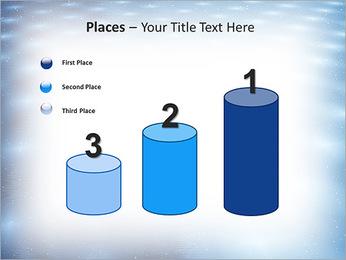 Bleu Pannel Modèles des présentations  PowerPoint - Diapositives 45