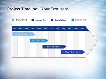 Bleu Pannel Modèles des présentations  PowerPoint - Diapositives 5