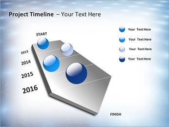 Bleu Pannel Modèles des présentations  PowerPoint - Diapositives 6