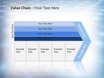 Bleu Pannel Modèles des présentations  PowerPoint - Diapositives 7