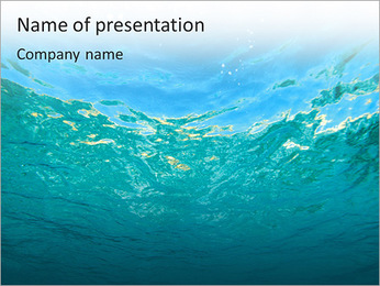 World Under Water PowerPoint Template