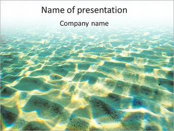 Highlight On Water PowerPoint Template