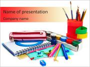 School Kit PowerPoint Templates