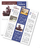 Feng Shui Newsletter Template