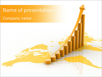 Yellow Diagram PowerPoint Template