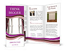 Curtain Design Brochure Templates