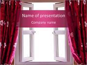 Curtain Design PowerPoint Templates