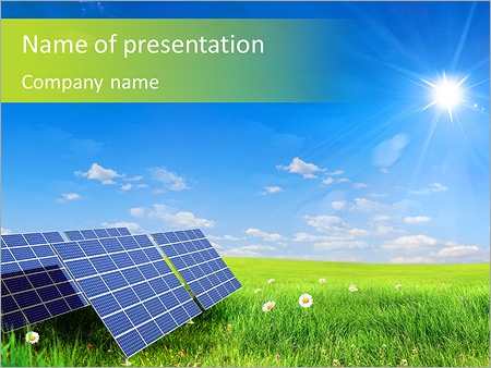 Safe Energy Powerpoint Template