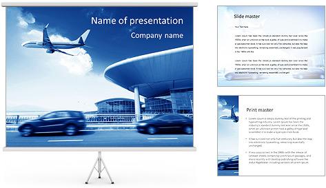 Aéroport Modèles des présentations  PowerPoint