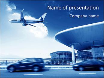 Aéroport Modèles des présentations  PowerPoint - Diapositives 1