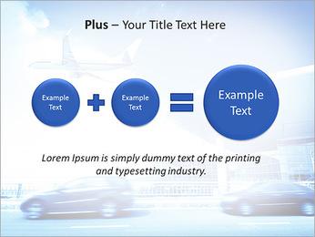 Aéroport Modèles des présentations  PowerPoint - Diapositives 55