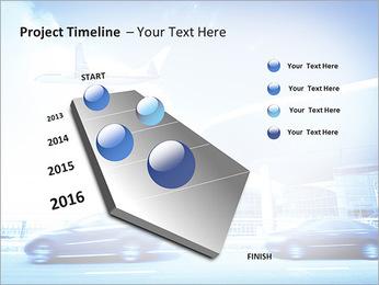 Aéroport Modèles des présentations  PowerPoint - Diapositives 6
