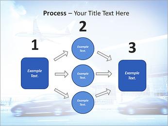 Aéroport Modèles des présentations  PowerPoint - Diapositives 72