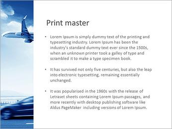 Aéroport Modèles des présentations  PowerPoint - Diapositives 76