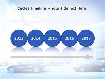 Aéroport Modèles des présentations  PowerPoint - Diapositives 9