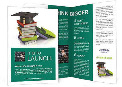 University Book Brochure Template  Design Id