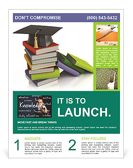 Superior University Book Flyer Template