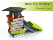 University Book PowerPoint Templates