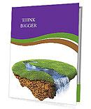 Green Peace Of Land Presentation Folder