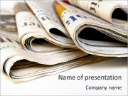 Fresh Newspapers PowerPoint Templates