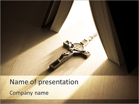 Jesus Powerpoint Template Backgrounds Google Slides Id