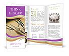 Ancient Clock Brochure Templates