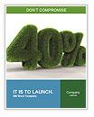 Green Percent Word Templates
