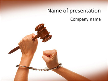 Court Hearing PowerPoint Template