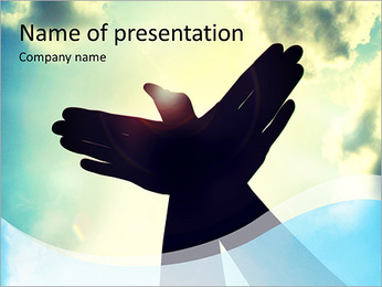 Free As Bird PowerPoint Template