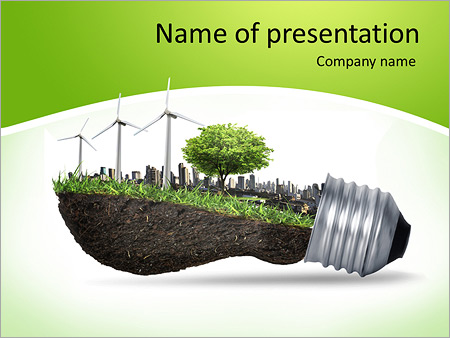 Eco powerpoint template smiletemplates eco concept powerpoint template toneelgroepblik Images