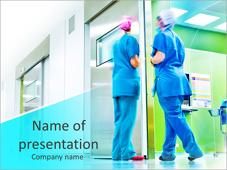 nurse powerpoint template smiletemplates com