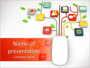 Computer Gadget PowerPoint Template