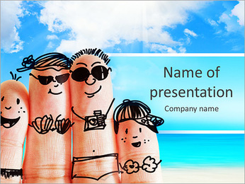 Finger Family PowerPoint Template