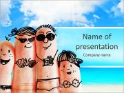 Finger Family Sjablonen PowerPoint presentaties
