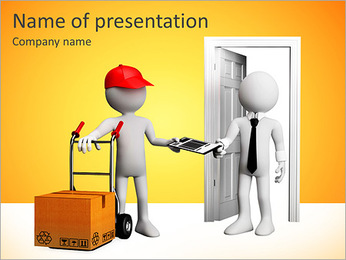 Home Delivery PowerPoint Template