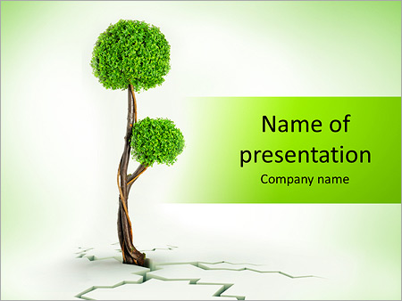 Tree Powerpoint Template Backgrounds Google Slides Id