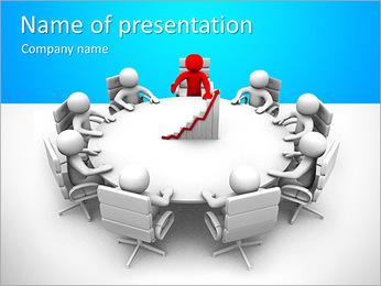 Corporate Discussion PowerPoint Template