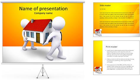 Carry Casa Modelos de apresentações PowerPoint