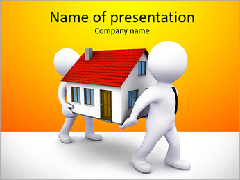 Carry House PowerPoint Template
