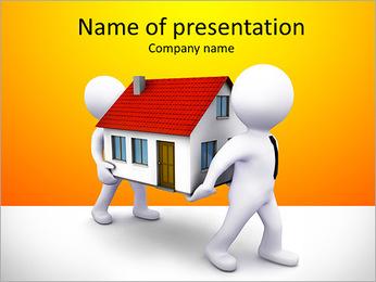 Carry Casa Modelos de apresentações PowerPoint - Slide 1