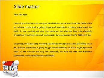Carry Casa Modelos de apresentações PowerPoint - Slide 2