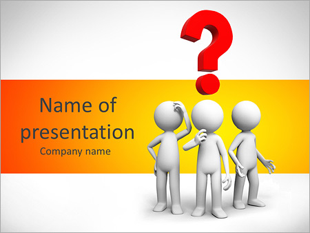 Question Mark Powerpoint Template Backgrounds Google Slides Id