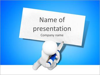 Empty Ads Board Modelos de apresentações PowerPoint