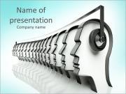 Disco Headphones Modelos de apresentações PowerPoint