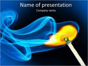 Matches Flame PowerPoint Templates
