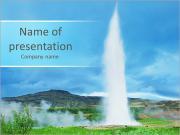 Huge Geyser PowerPoint Templates