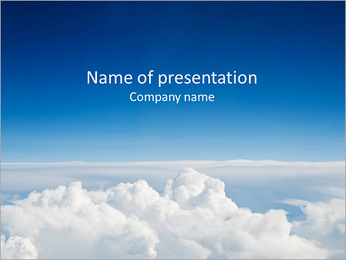 Blue Sky PowerPoint Template