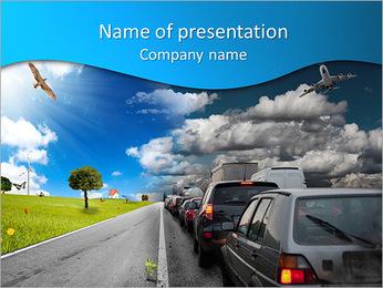 Un problème de circulation Modèles des présentations  PowerPoint